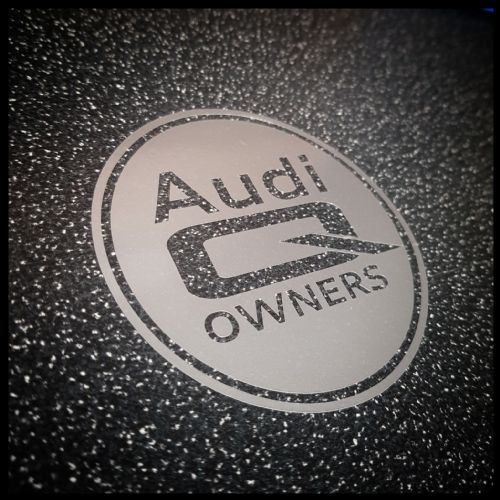Audi Q Owners (Official Club Sticker)